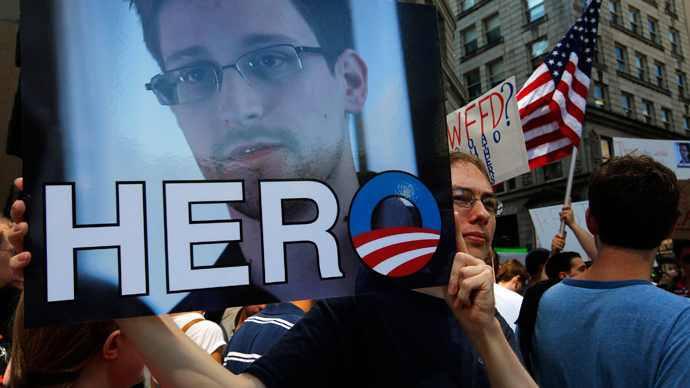 Snowden hero