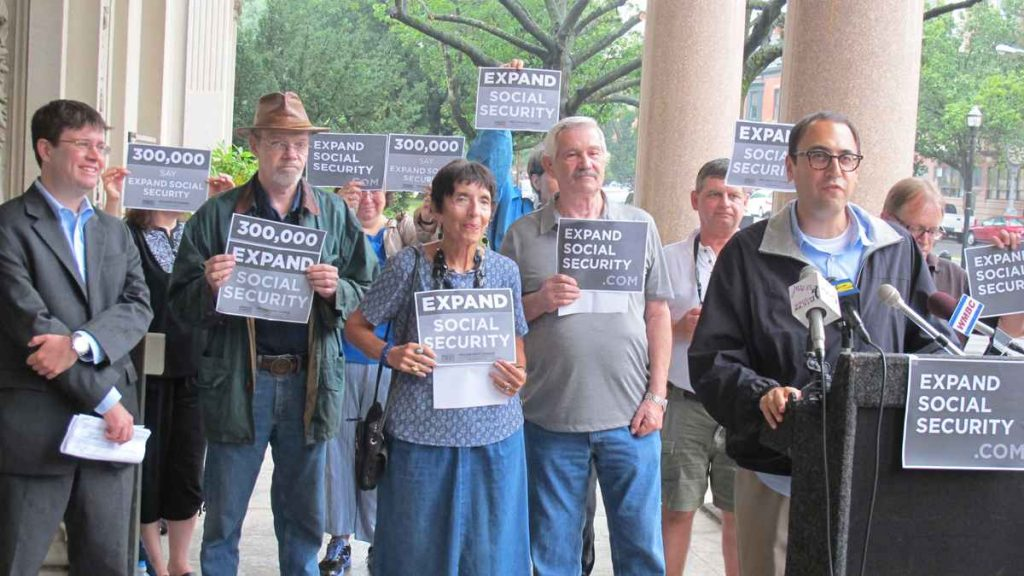 Social Security Expand It protest