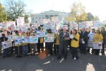 Social Security Protest at White House