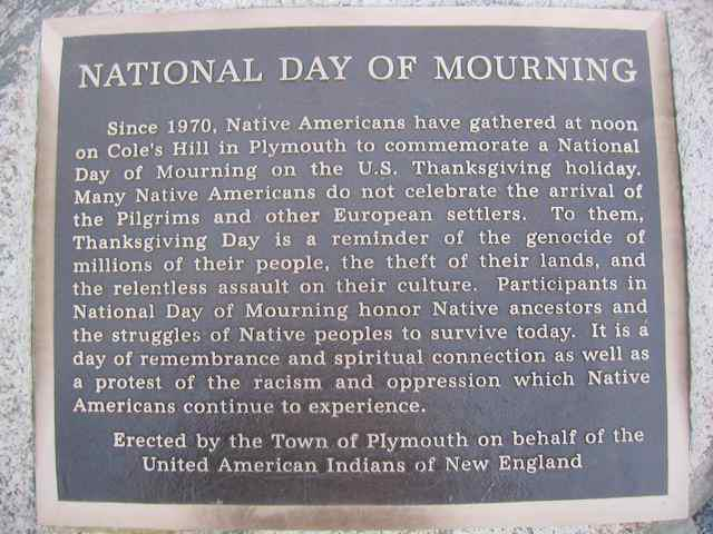 Thanksgiving Day of Mourning for Native Americans