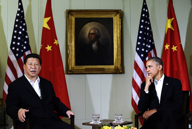 U.S. President Barack Obama & Chinese President Xi Jinping