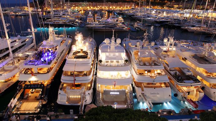 Yachts at Monoco