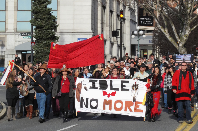 idle no more essay For example, while cbc radio's q host jian ghomeshi's opening essay on idle  no more was warmly received on december 21, 2012, that.
