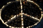 """""""Light a candle for peace"""" protest in Bethlehem"""