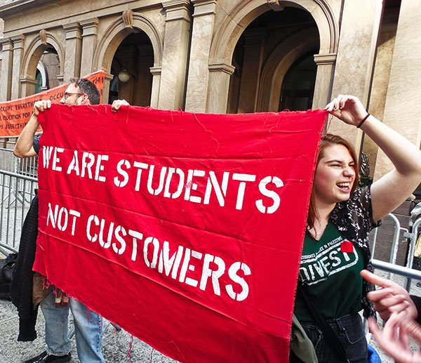 Cooper Union We are Students Not Customers