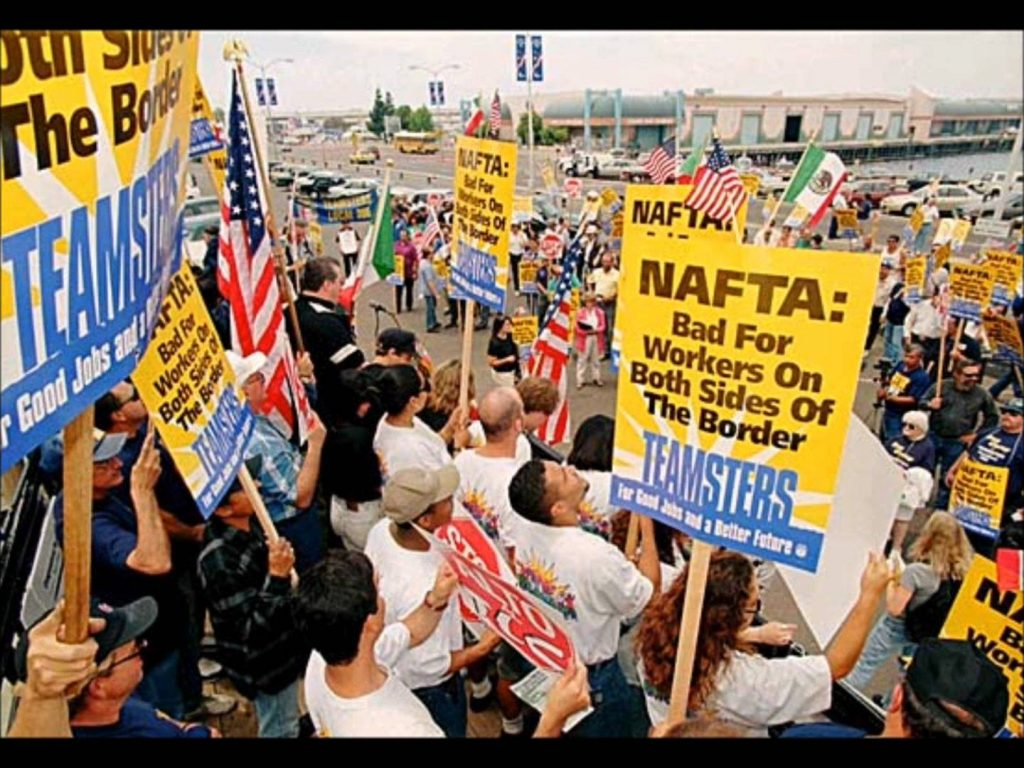 NAFTA protest bad for workers