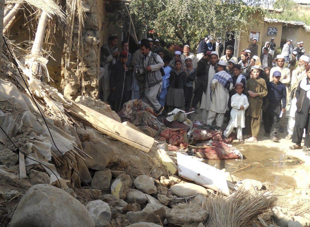 Pakistan drone bombing madrassa-aftermath-reuterssyed-shah