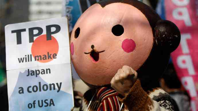 TPP Japan not a US colony