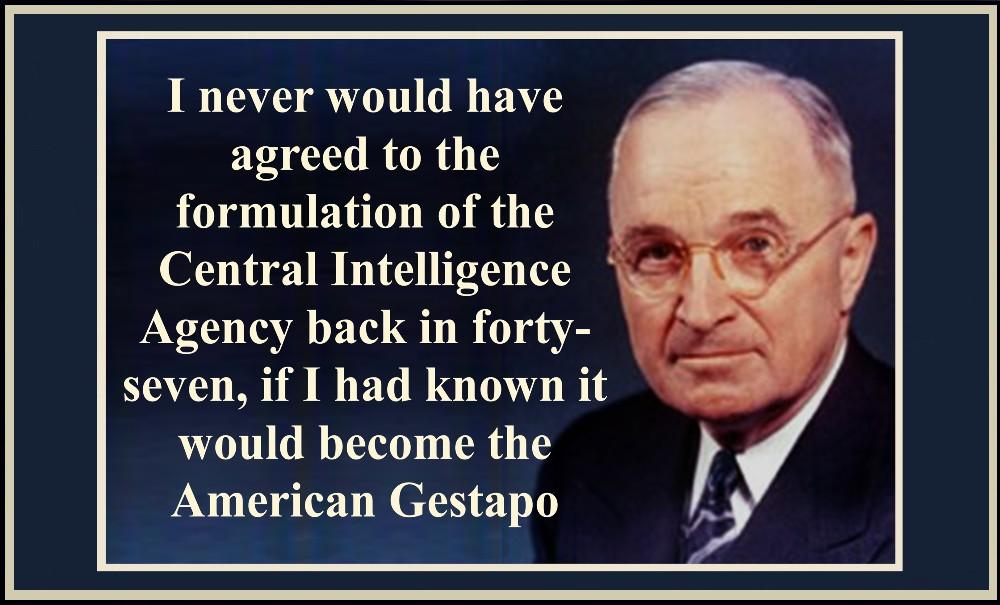 Truman on the CIA