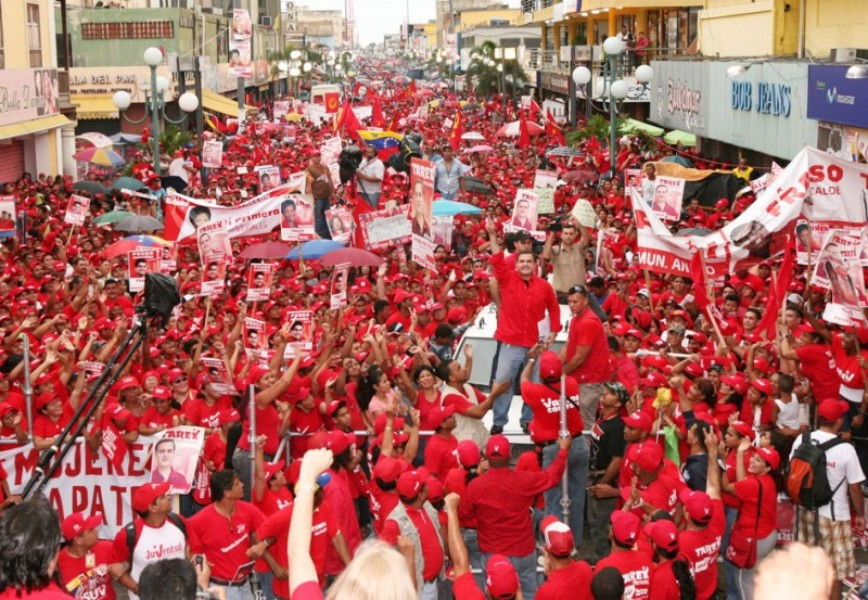 bolivarian revolution venezuela On april 19, the venezuelan working-class came out in support of the revolution and the the blows are long and hard against the bolivarian state, but we continue to say: forward ever, backward never.