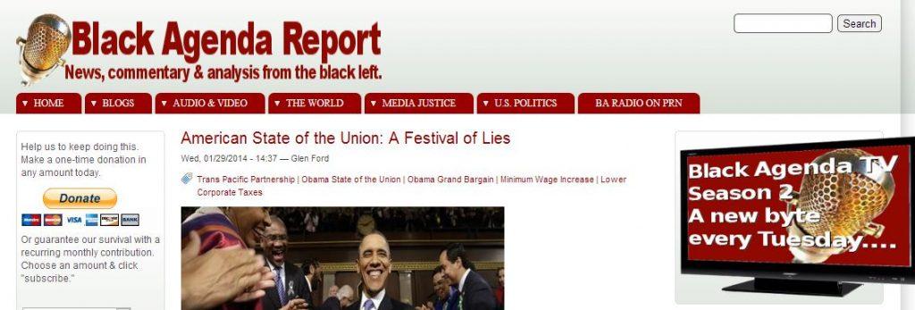 Black Agenda Report 2