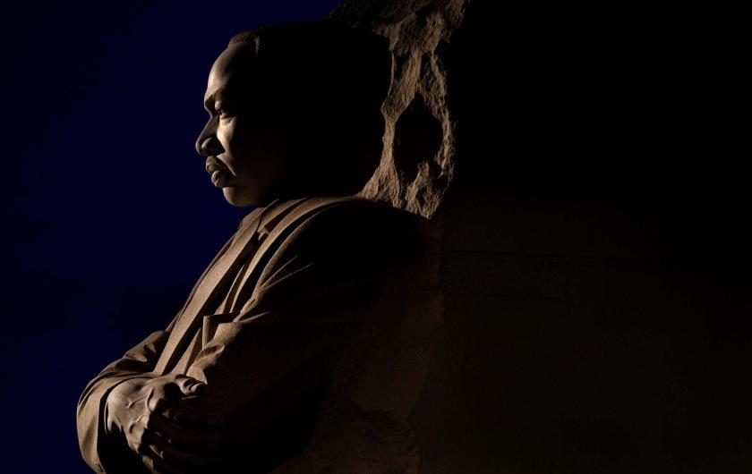 MLK Memorial ominous