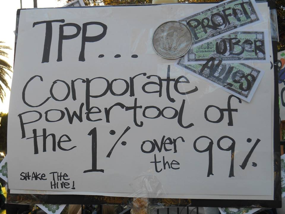 Steiner LA TPP One of many handmade signs.