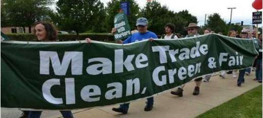 TPP Make trade green, clean and fair