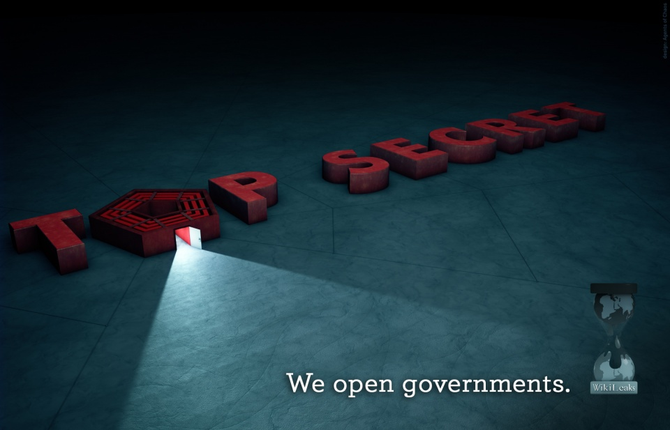 Wikileaks we open governments