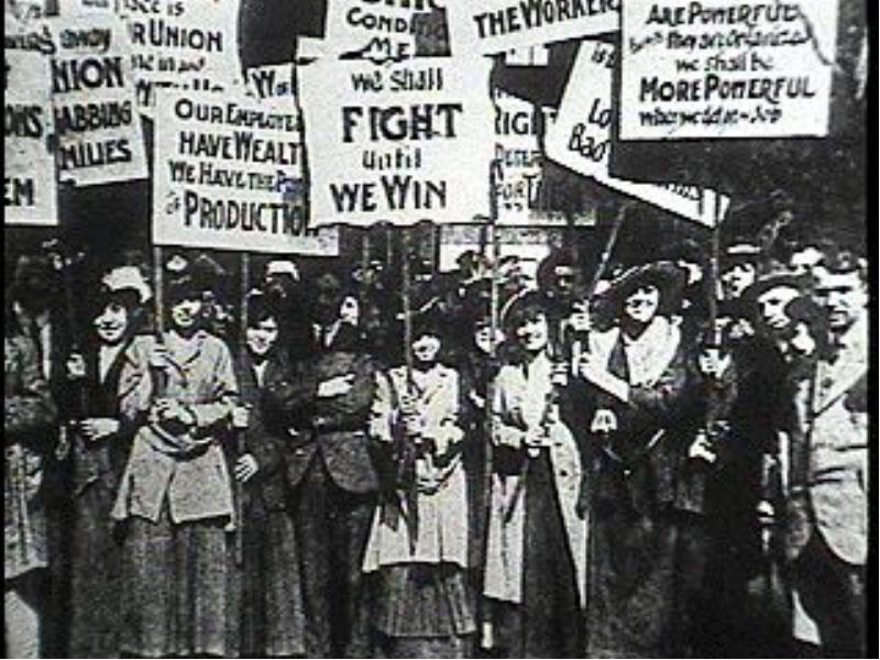 the clash of big businesses and labor unions and socialism in the united states during the industria The labor history of the united states describes formation of the united auto workers union (uaw) during the war of a strategy by big business.