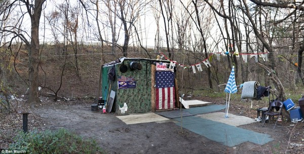 Hidden Homeless Camps In The Woods Popularresistance Org