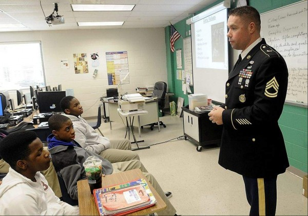 should the military recruit in high A seattle high school bars military the school is perhaps one of the first in the nation to debate and vote against military recruiting on high school.