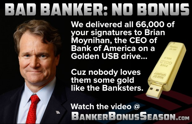 91 billion in banker bonuses  make the bankers squirm