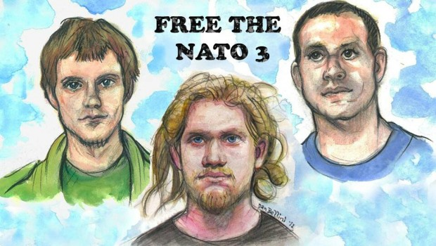 NATO 3 Free the NATO 3 drawing