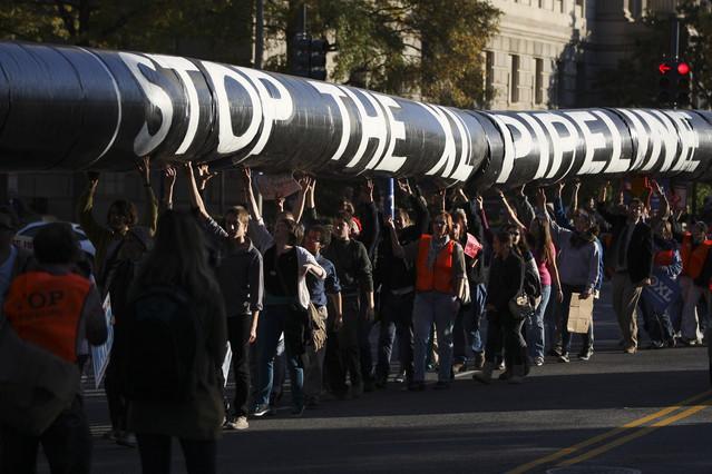 No KXL Protest