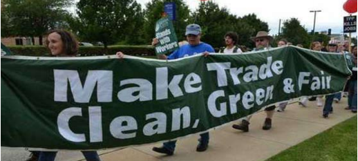 TPP Make trade green, clean and fair