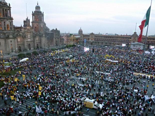 TPP protest in Mexico 2