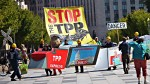 US-TRADE-PACIFIC-TPP-PROTEST