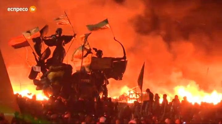 Ukraine in flames February 18, 2013
