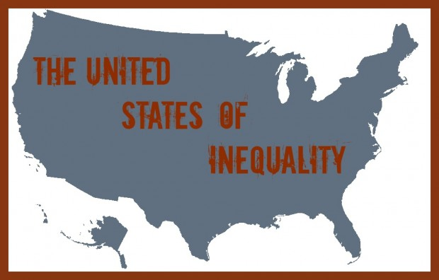 United States of Poverty and Inequality Map