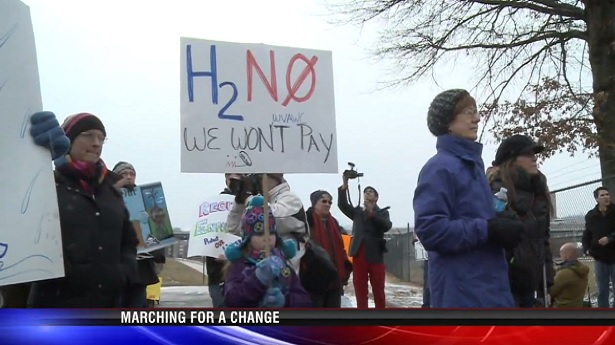 WV refuse to pay water bills for polluted water