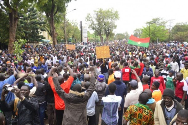 West Africa Since January, tensions have flared between Burkina Faso's authoritarian government and pro-democracy activists. Photo Agence France-Presse