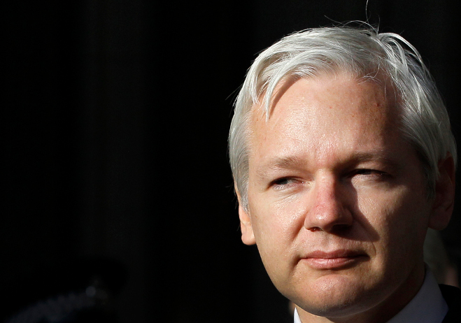 WikiLeaks founder Julian Assange. (AP Photo/Kirsty Wigglesworth)