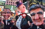 Occupy Puppets protesting the Trans-Pacific Partnership
