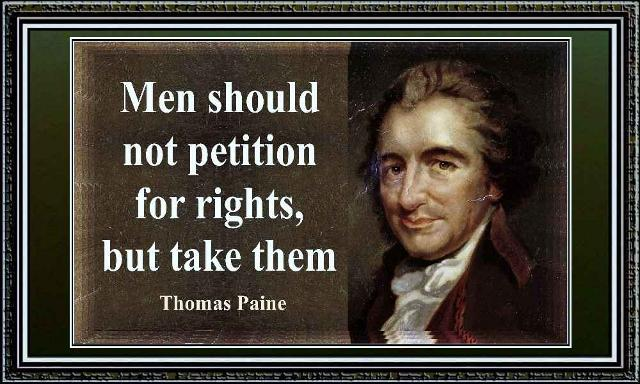 Thomas Paine take rights