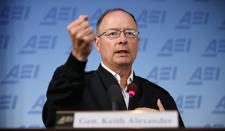 Nat'l Security Agency Director Attends AEI Discussion On Cybersecurity