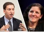 Glenn Greenwald and Laura Poitras