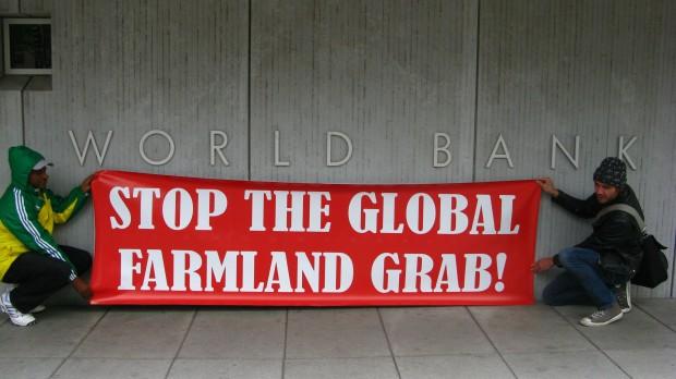 World Bank stop the land grab