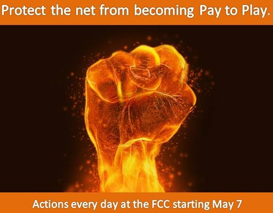 Net Neutrality Fire fist meme
