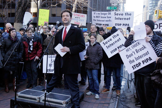 Net Neutrality In 2012, Reddit co-founder Alexis Ohanian took part in a protest—involving websites that went dark—to kill pending Internet legislation.