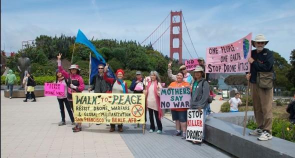 Walk For Peace Day 1 Golden Gate Bridge 2