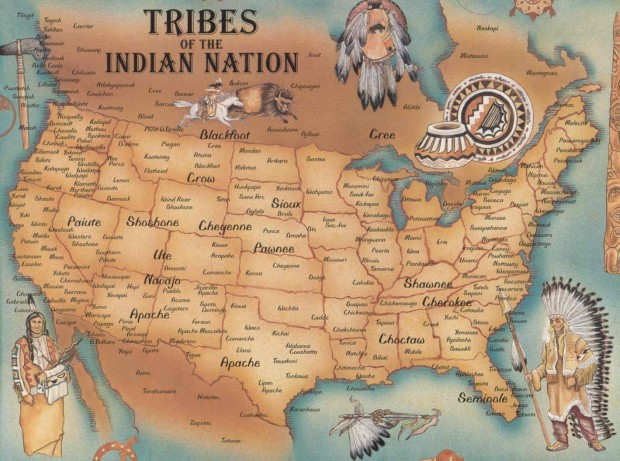 Videomap Shows How Colonizers Took US Land PopularResistanceOrg - Map of indian lands in the us