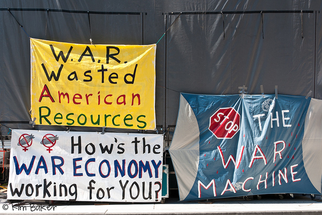 how's the war economy working for you?