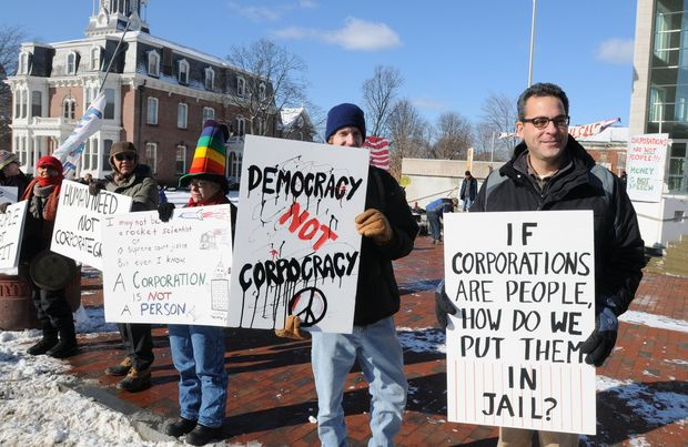 Constitution protest