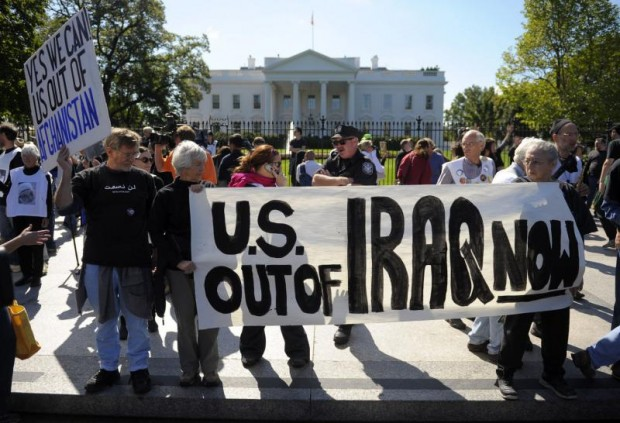 Iraq and Afghan War Protest