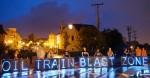 Oil Train Blast Zone light brigade