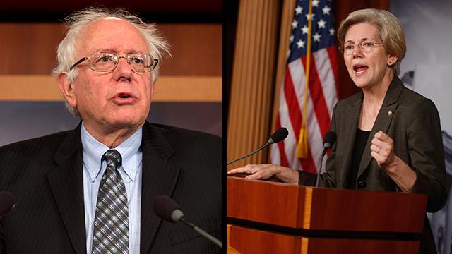Sanders and Warren