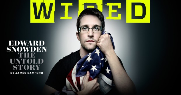 Snowden WIRED Cover II
