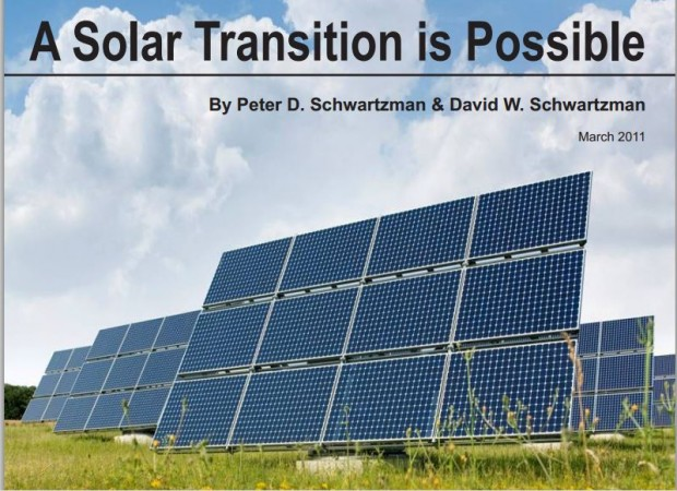 A solar Transition is Possible Cover