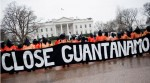 CLose Guantanamo protest at White House